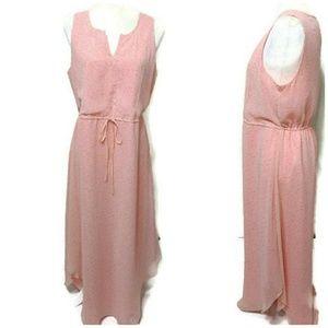 NWT LC Lauren Conrad Shirt Tail Hem Dress